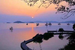 无锡市十大湖泊排行榜:蠡湖在榜,第六生有桃花水母