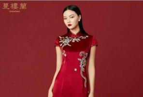 中國十大旗袍品牌 龍鳳旗袍上榜,第三主打高端定制